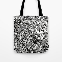 Peony Fascination Tote Bag