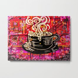 Coffee House Metal Print