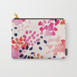 Flower abstract, watercolor floral pattern Carry-All Pouch
