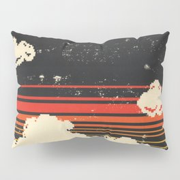 Clouds in the Sky at Night Pillow Sham