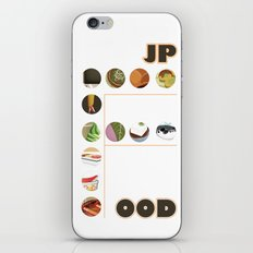 Japanese Food Bubble Zoom iPhone & iPod Skin