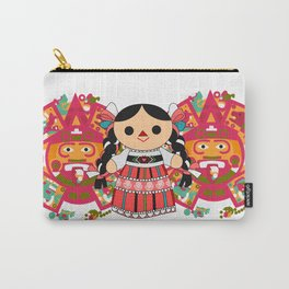 Maria 4 (Mexican Doll) Carry-All Pouch