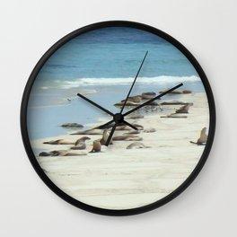 Seals Wall Clock