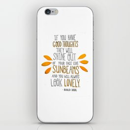 Sunbeams iPhone Skin