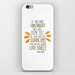 Sunbeams iPhone Skin