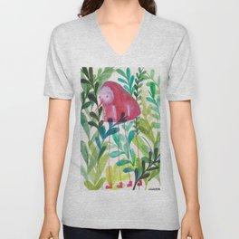 Little Bird-Bug Unisex V-Neck