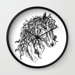 Friesian Wall Clock