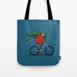 Bike Life: Christmas Tote Bag