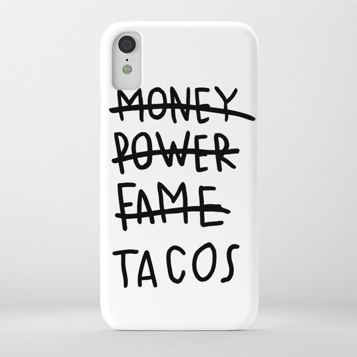 Taco Lyfe Iphone Case By Oliveillustration