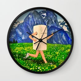 Is Your Refrigerator Running? Wall Clock
