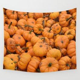 Lil Pumpkin Wall Tapestry