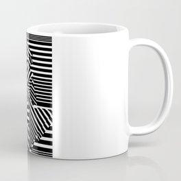 Dazzle Camo #01 - Black & White Coffee Mug