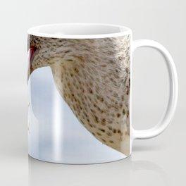 Watercolor Bird, Willet 07, Eating Rusty Crayfish, Longmont, Colorado, Hearty Snack Coffee Mug