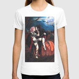 SasuSaku Halloween T-shirt