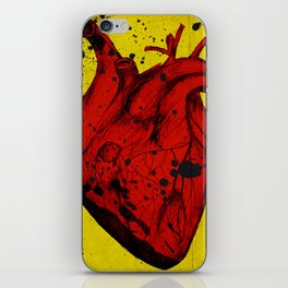 Red Heart iPhone Skin