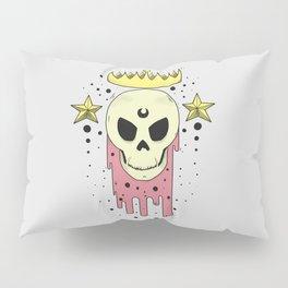 Crowned Skull Pillow Sham