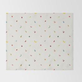 Tutti Frutti Throw Blanket