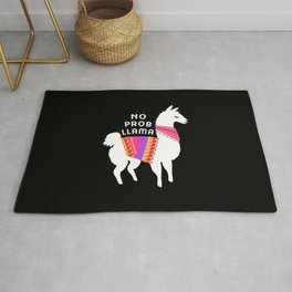 No Prob Llama Rug