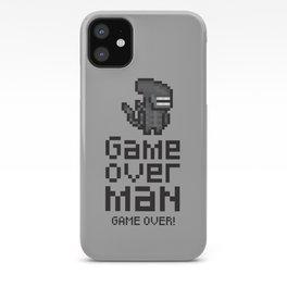 Game over man - Alien iPhone Case