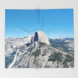 Take Me to Yosemite Throw Blanket