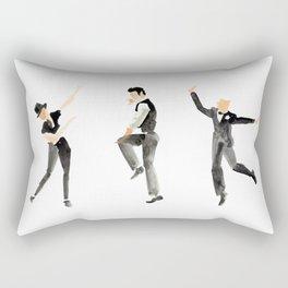 Toe Tappers Rectangular Pillow