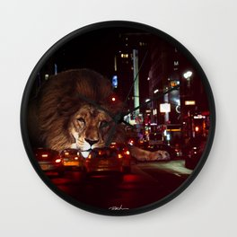 Meet me in the Middle Wall Clock