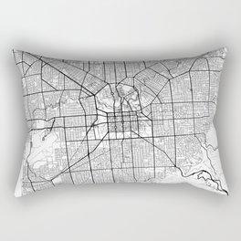 Adelaide Map White Rectangular Pillow