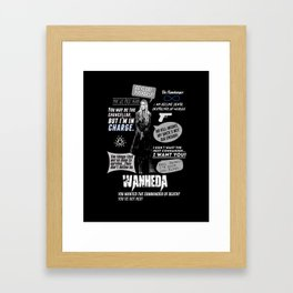 Clarke Griffin - Quotes The 100 Framed Art Print