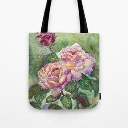 Grandma's Roses Tote Bag
