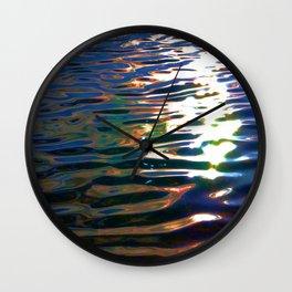 Dark&Fluid Wall Clock