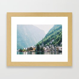 Hallstatt III Framed Art Print