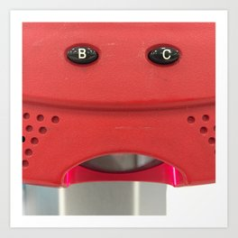 B-C-ing you! Art Print