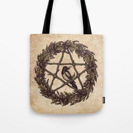 Botanical Pentacle: Wild Witch Tote Bag