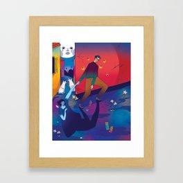 Nocturno Framed Art Print