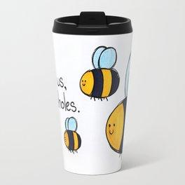 Bees!!! Travel Mug