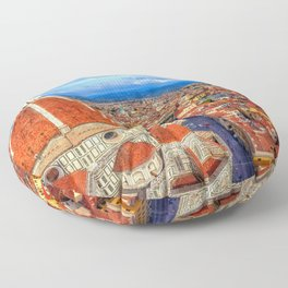 Florence Cathedral Florence Italy Ultra HD Floor Pillow