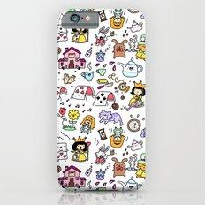 Alice in Doodleland Slim Case iPhone 6s