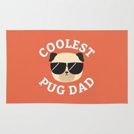 Coolest Pug Dad Rug