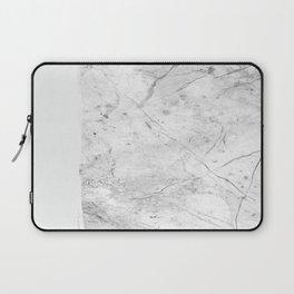 Milk On Marble Laptop Sleeve