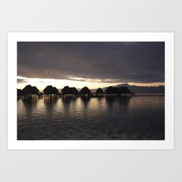 Polynesia Quiet Art Print
