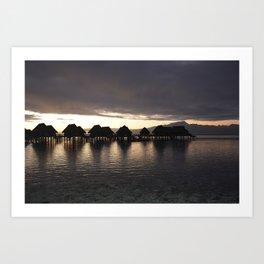 Polynesia Quiet Art Print