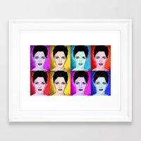 emma watson Framed Art Prints featuring Emma Watson by Joe Hilditch