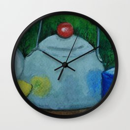 Afternoon Tea mm160320b Wall Clock