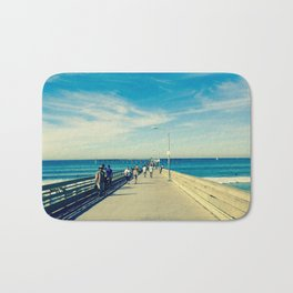 Pier Blue Bath Mat