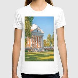 Charlottesville Virginia Campus Lawn Print T-shirt