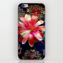 Cactus Flower By Design iPhone Skin