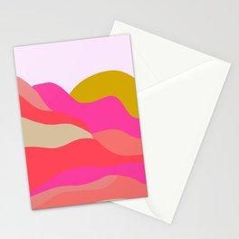 Adelaida, mountain sunset Stationery Cards