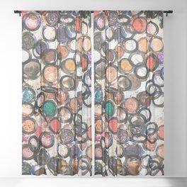 Eyeshadows Sheer Curtain