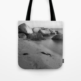 Stones in the sea 3 Tote Bag