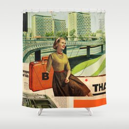 Give & Thank You Shower Curtain